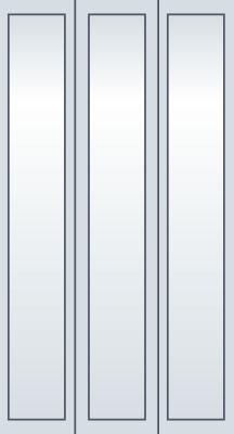 3 flüglige Tür Aufzug Homelift ES4