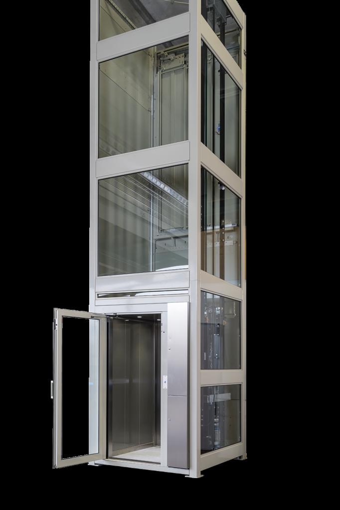 Aufzug offen Homelift ES4