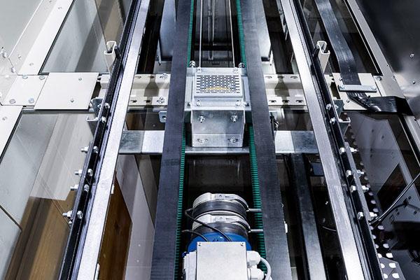 Technik Aufzug Homelift ES4