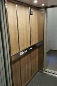 Homelift Aufzug, Innen, Parsdorf, GMS Service Aufzug